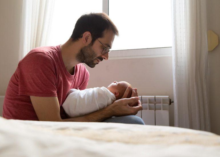 Sesión recién nacido en domicilio